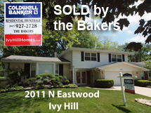 2011 N eastwoow sold by the bakers