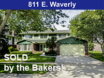811 E Waverly sold by the Bakers
