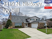 2419 Hickory listed by the Bakers